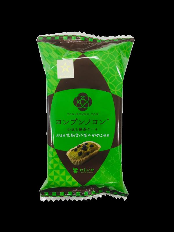 小豆と緑茶ケーキ